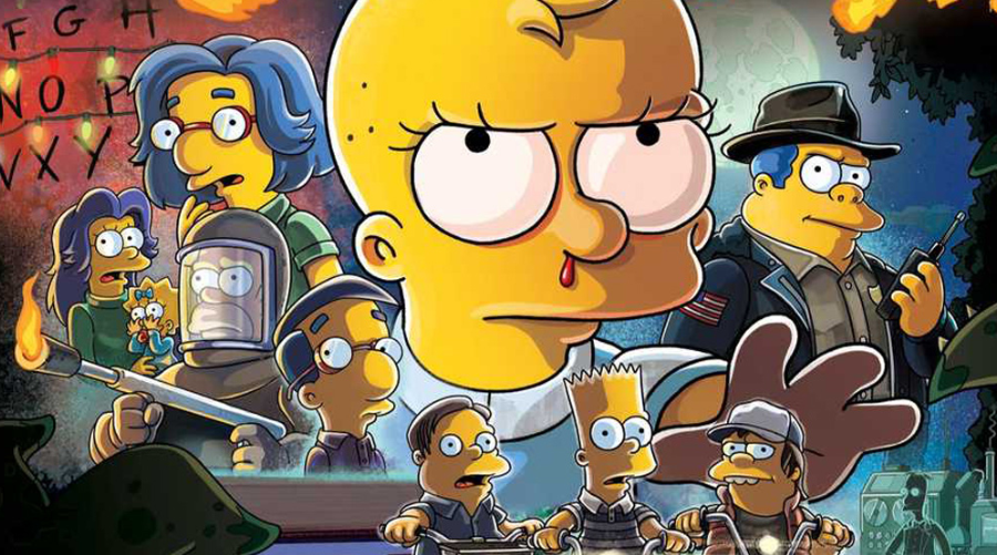 Les Simpson invitent Stranger Things pour le prochain épisode d'Halloween