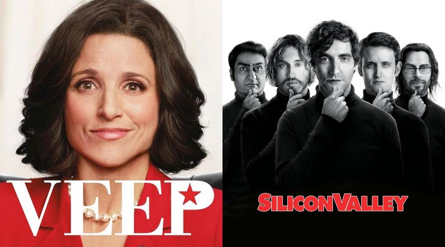 Veep et Silicon Valley