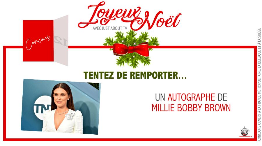 [Calendrier de l'avent – Jour 12] Tentez de gagner un autographe de Millie Bobby Brown
