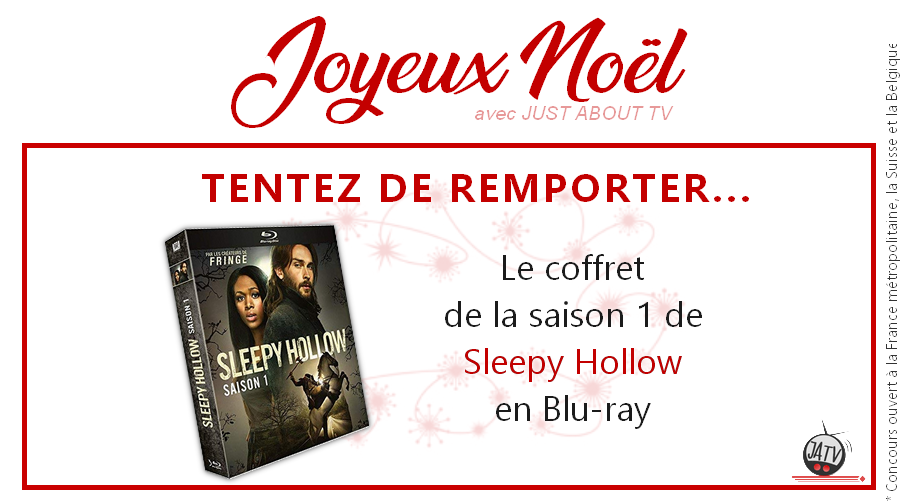 [Calendrier de l'avent - Jour 14] Tentez de gagner la saison 1 de Sleepy Hollow en Blu-ray
