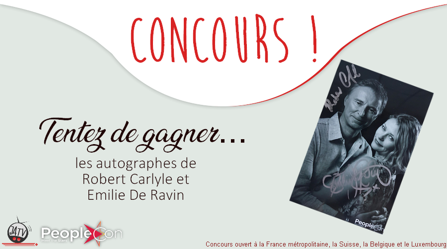 The Happy Ending Convention (Once Upon A Time) : remportez les autographes de Robert Carlyle et Emilie De Ravin !