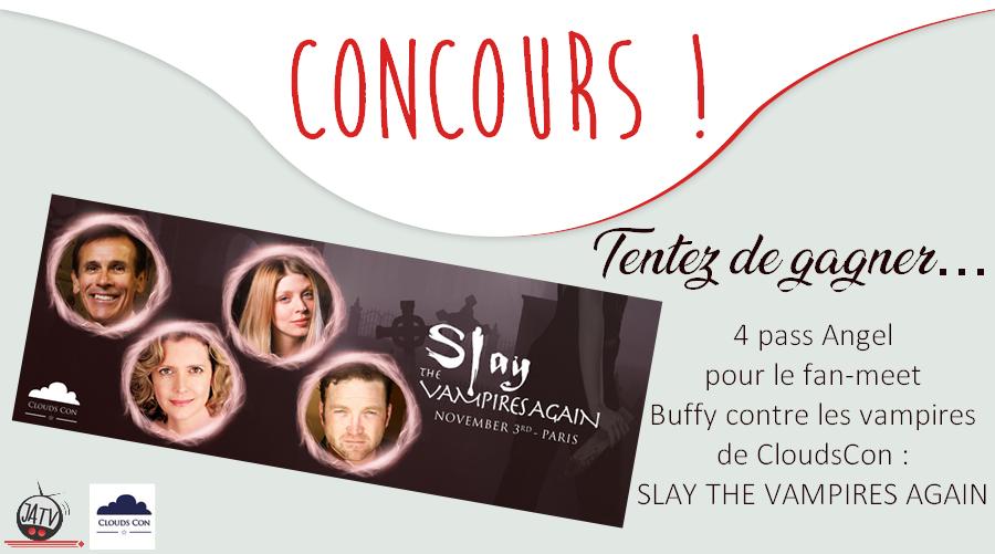 4 pass pour le fan-meet Buffy contre les vampires de CloudsCon à gagner !