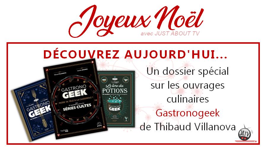 [Calendrier de l'avent – Jour 4] Focus sur les livres Gastronogeek