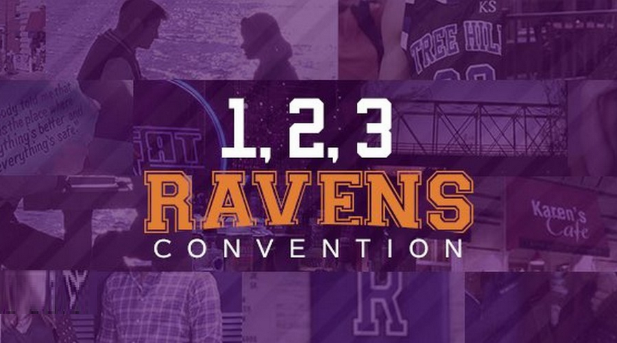 James Lafferty et Bethany Joy Lenz à la 1,2,3 Ravens de Empire Conventions