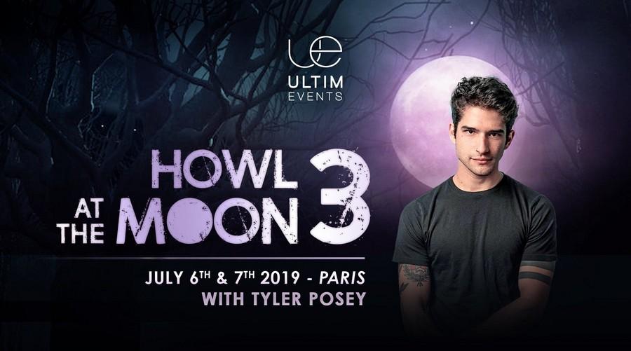 UltimEvents annonce la troisième édition de la Howl At The Moon ainsi que le premier invité : Tyler Posey