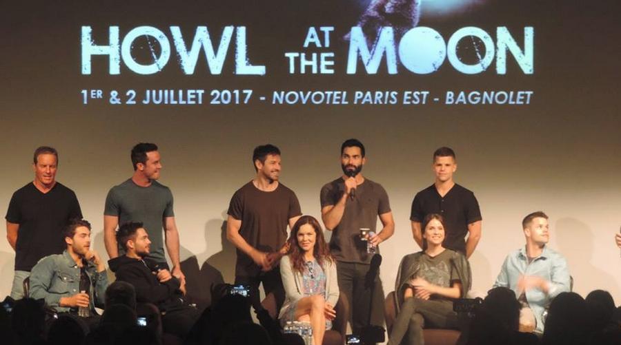 Les acteurs de Teen Wolf étaient à Paris pour la convention Howl At The Moon