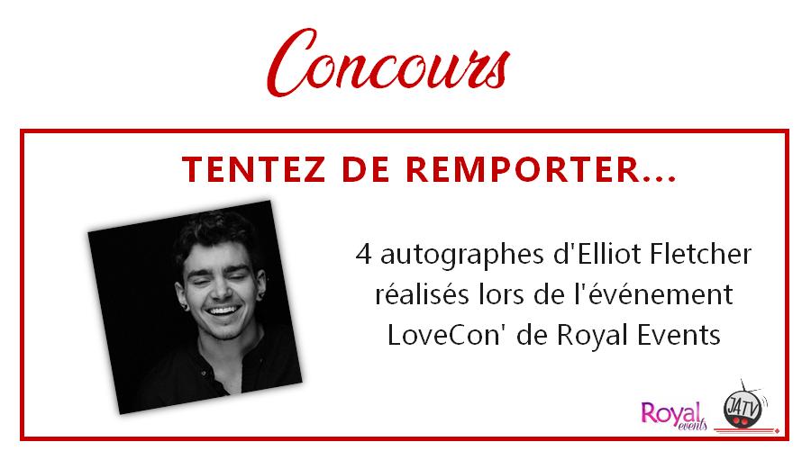 LoveCon : 4 autographes d'Elliot Fletcher (The Fosters, Shameless) à gagner !