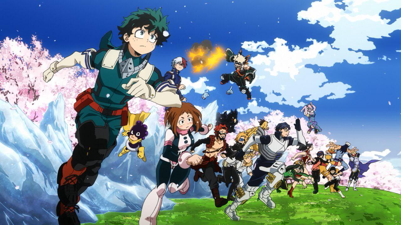 My Hero Academia : la saison 4 sera disponible prochainement sur Toonami !