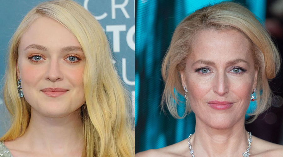 Gillian Anderson et Dakota Fanning pour la nouvelle série The First Lady