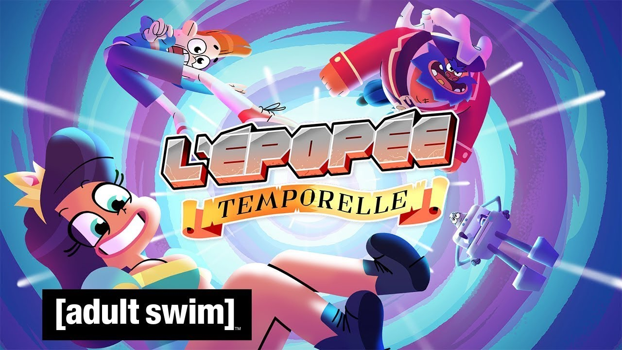 L'épopée temporelle : la série audio de Cyprien adaptée en série animée bientôt diffusée sur Adult Swim !