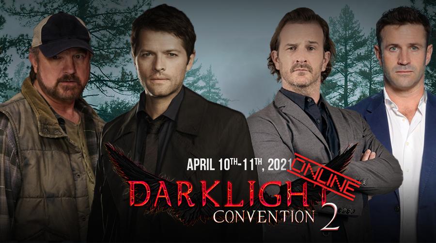 DarkLight Con Online 2 : le prochain évènement en ligne Supernatural de People Convention