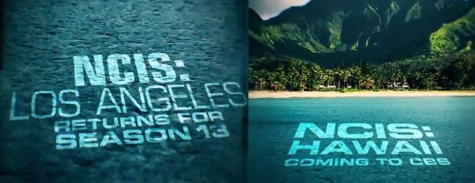 CBS : NCIS: Los Angeles renouvelée et NCIS: Hawaii commandée