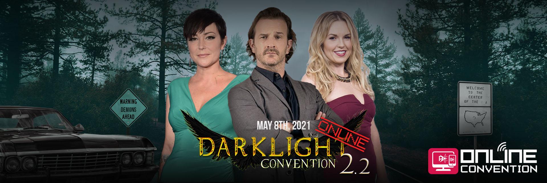 DarkLight Con Online 2.2 de People Convention : date et invité·e·s !