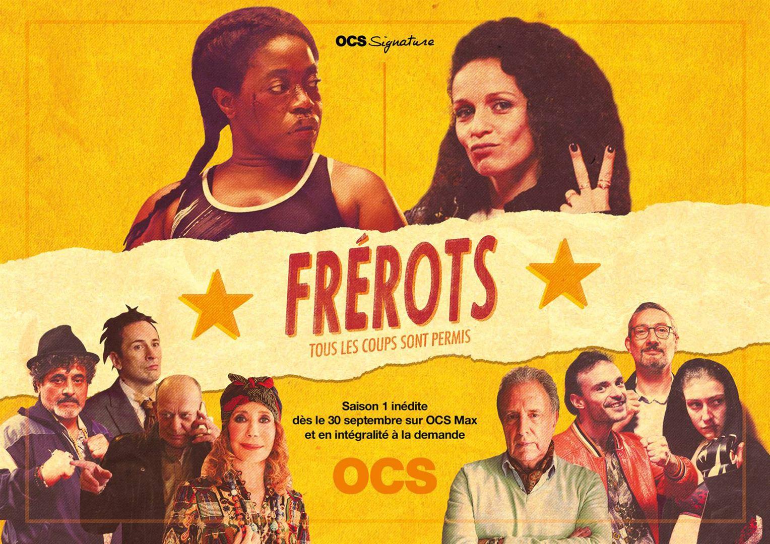 Frérots : la saison 1 bientôt sur OCS Max !