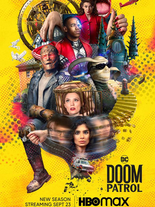 Doom Patrol : une nouvelle bande annonce pour la saison 3 !
