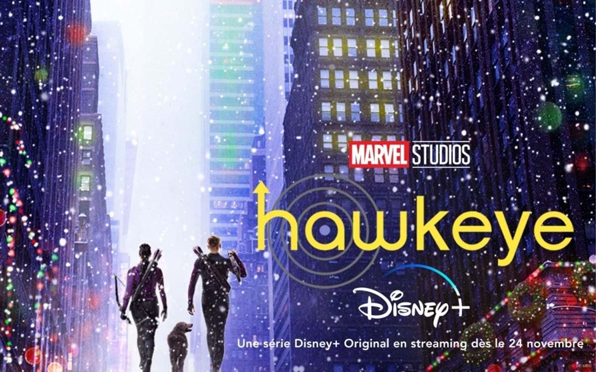 Disney+ dévoile la bande-annonce de Hawkeye, prochaine série Marvel