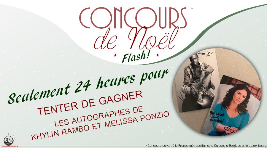 Concours de Noël FLASH : deux autographes d'acteurs de Teen Wolf à gagner !