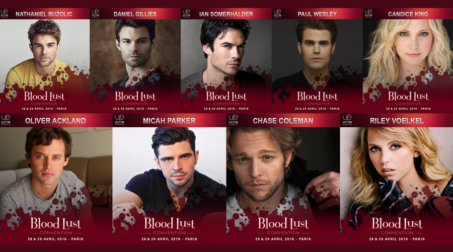 Gros plan sur la Blood Lust Convention d'Ultimevents qui aura lieu ce week-end !