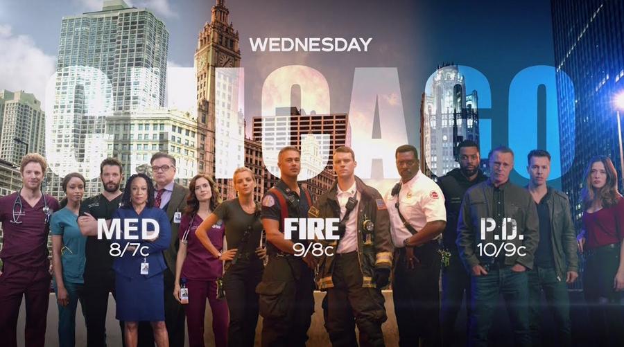 Chicago Fire, Chicago P.D. et Chicago Med renouvelées par NBC