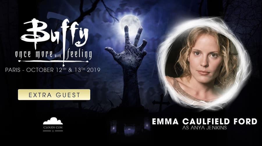 Emma Caulfield Ford invitée par CloudsCon à la convention Buffy !