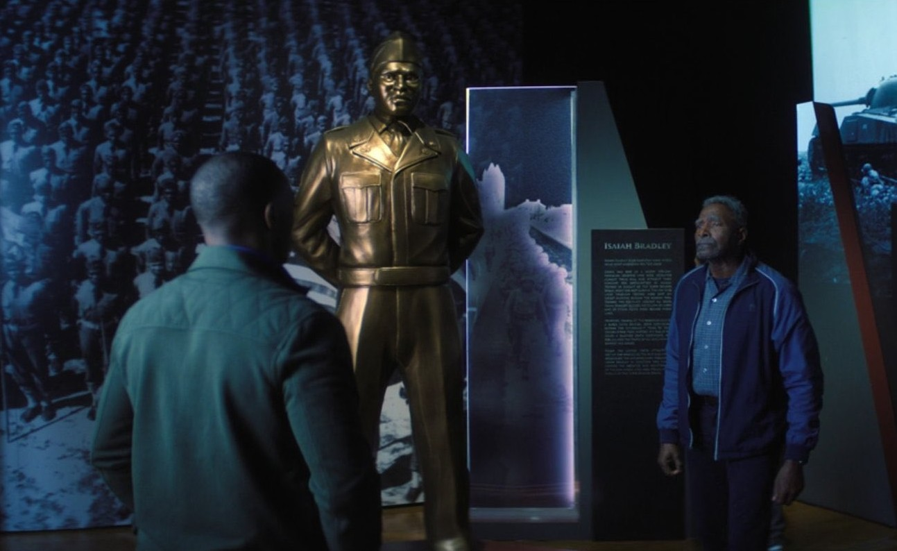 isaiah et sam au musée the falcon and the winter soldier