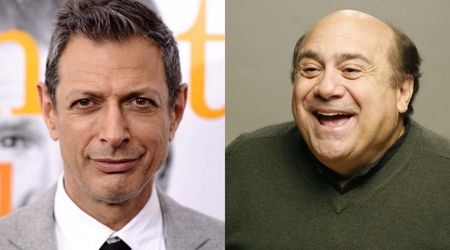 Jeff Goldblum et Danny DeVito