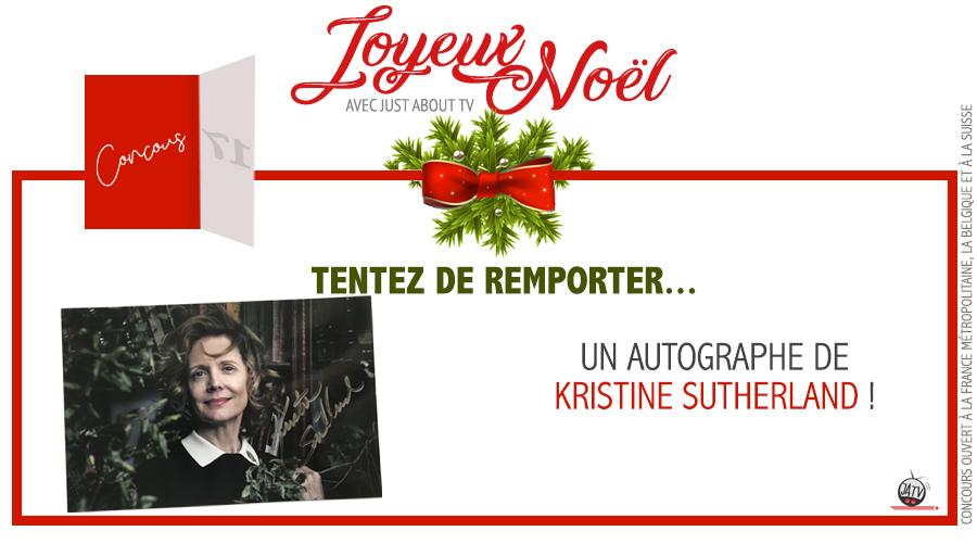 CONCOURS SURPRISE : Tentez de remporter un autographe de Kristine Sutherland !