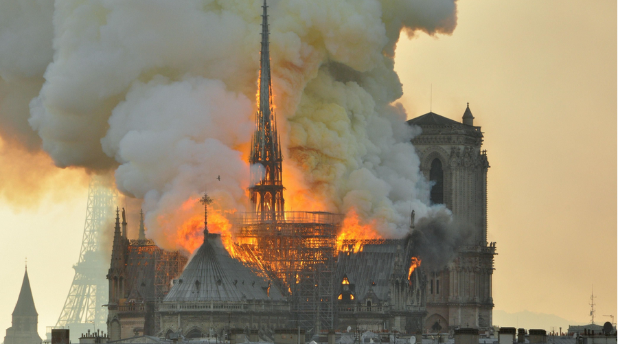 L'incendie de Notre-Dame de Paris adapté en mini-série pour 2021