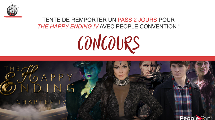 Tentez de remporter un pass pour The Happy Ending Convention IV de People Convention !