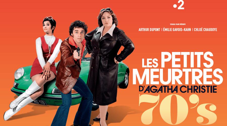 Les Petits Meurtres d'Agatha Christie version 70's sur France 2