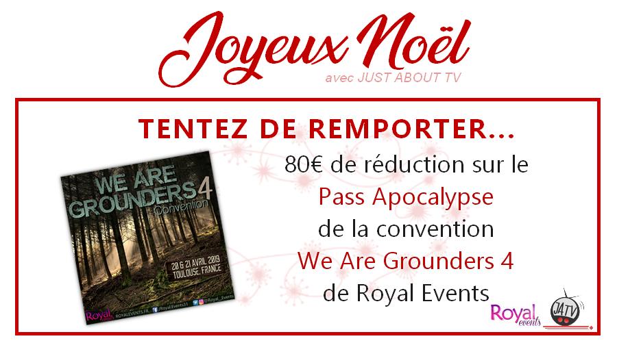 CONCOURS SURPRISE : Tentez de gagner 80€ de réduction sur la Pass Apocalypse pour la We Are Grounders 4 !