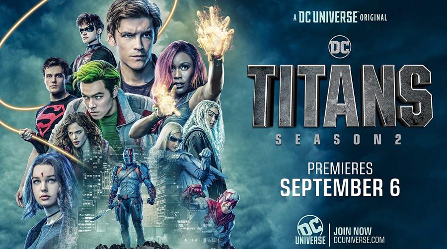 Titans : la saison 2 se dévoile dans un trailer